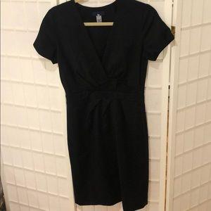 J. Crew Black Dress w/detail sz. 2